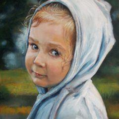Portret Niebieskiego Kapturka