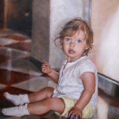 Portret małej dziewczynki