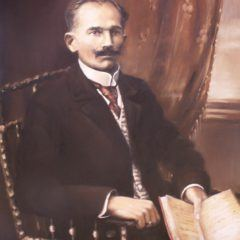 Portret zestarego zdjęcia