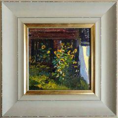 Obraz olejny: pejzaż - słonecznik