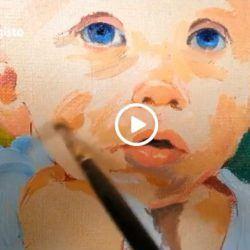 Filmik- Jak powstaje portret olejny dziecka