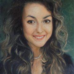 Portret olejny na płótnie
