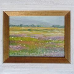 Łąka - obraz olejny w ramie